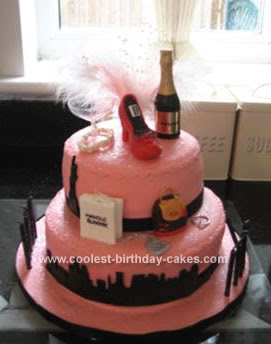 sex and the city carrie cake